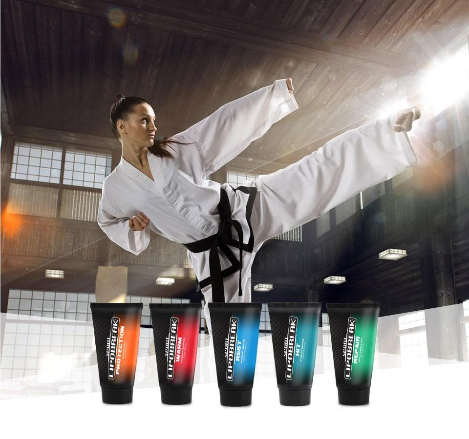Lipobreak - Creme e Gel per gli Sportivi | Arti Marziali