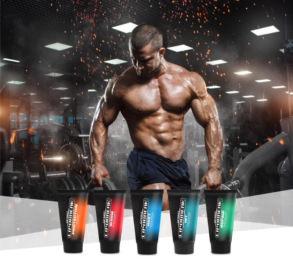 Lipobreak - Creme e Gel per gli Sportivi | Body Building