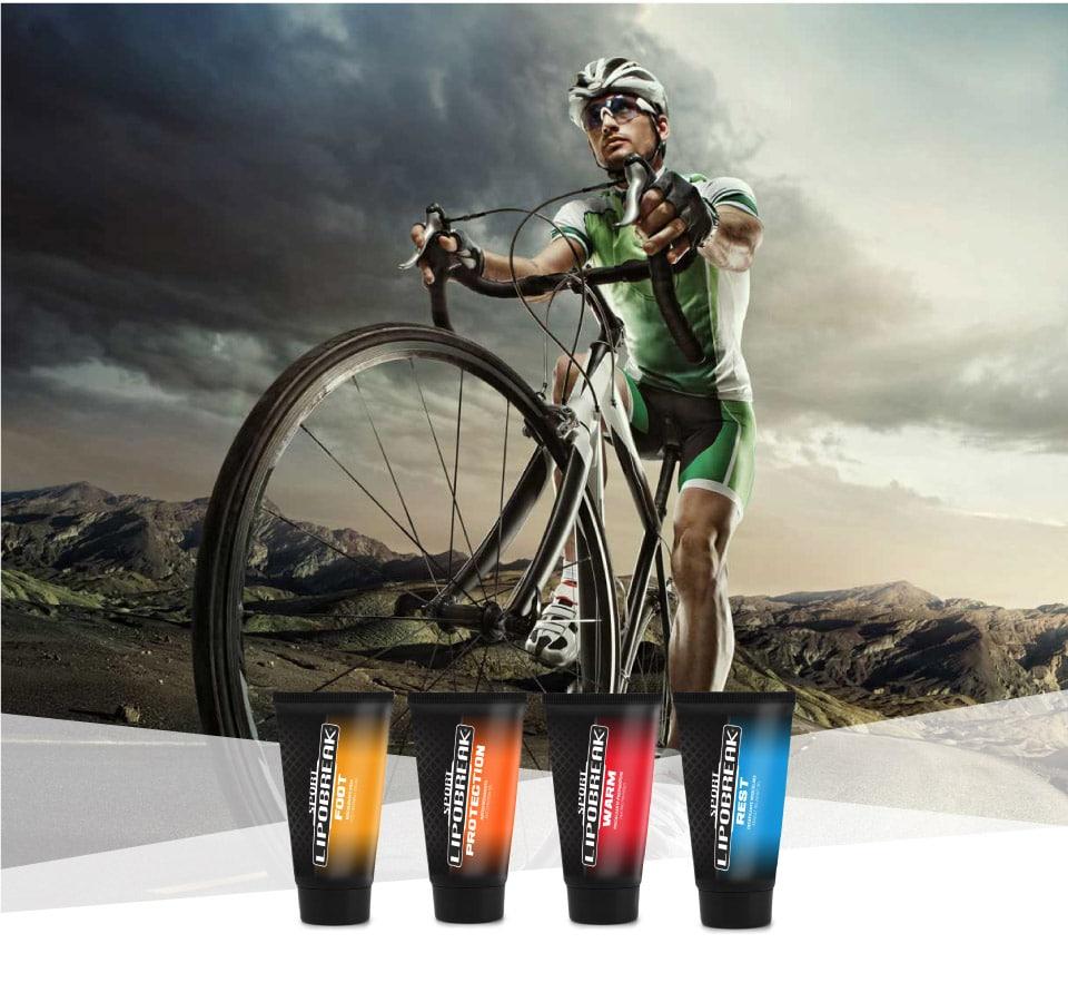 Lipobreak - Creme e Gel per gli Sportivi | Ciclismo
