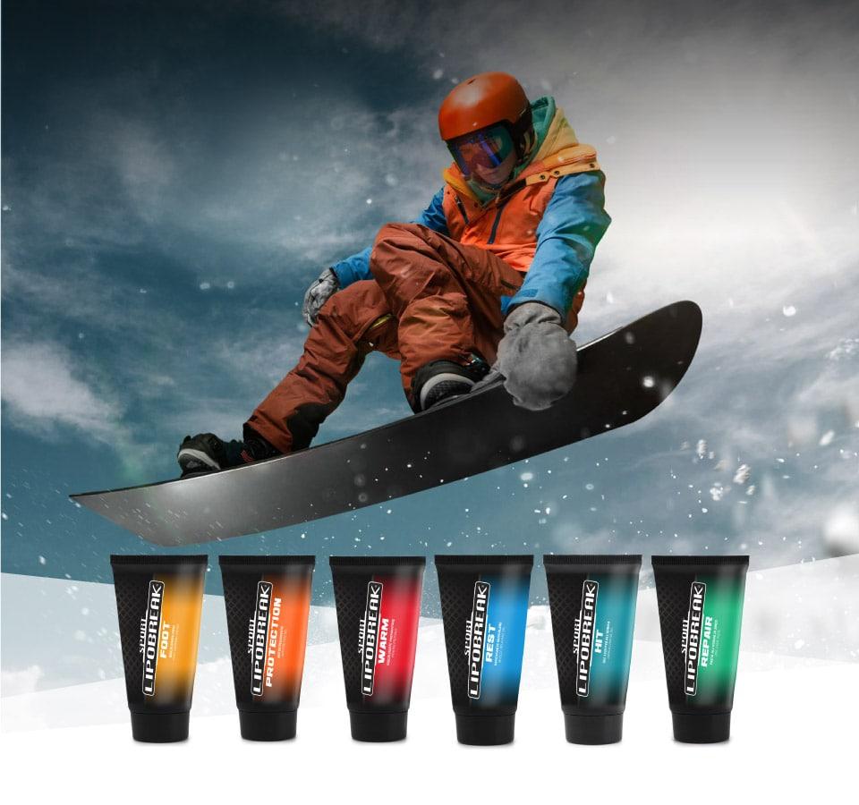 Lipobreak - Creme e Gel per gli Sportivi | Sci - Snowboard